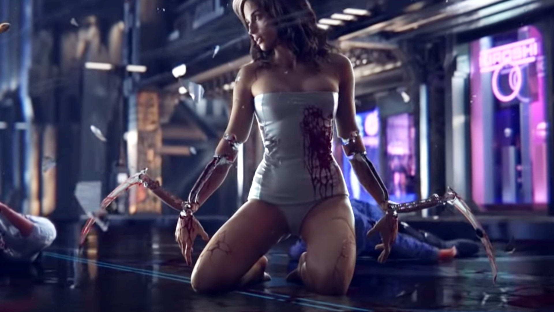How to get the mantis blades in Cyberpunk 2077