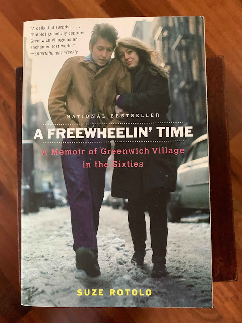 Book cover A Freewheelin' by Time Suze Rotolo