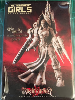 Last Day: Raging Heroes Miniature Giveaway..Sister Trematta, Field Resurrectrix