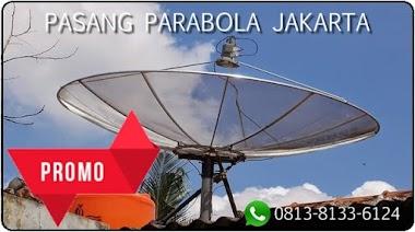 PASANG PARABOLA JAKARTA