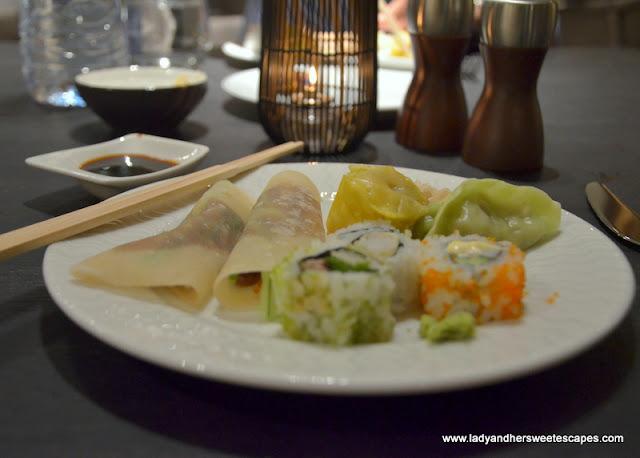 Minato Radisson Blu buffet