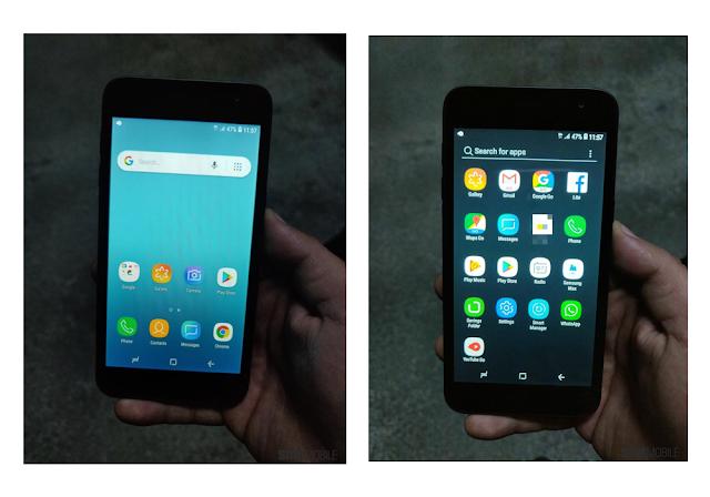 samsung con android go tendria capa de personalizacion de samsung