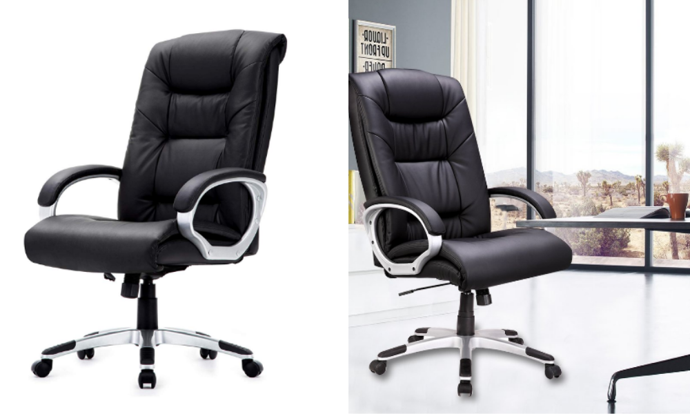 PU Leather Office Chair with Arm