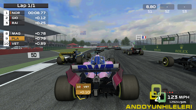 F1  Mobile Racing Para Hileli APK
