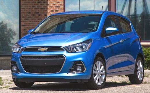 2019 Chevrolet Spark Redesign