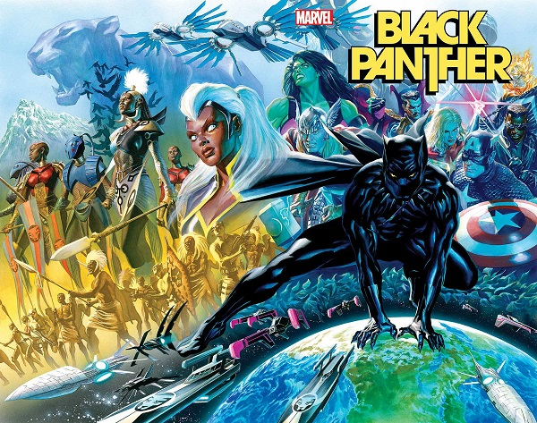 Wraparound cover for Black Panther #1
