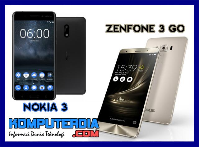 Nokia 3 harus siap ditantang Asus Zenfone 3 Go