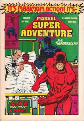 Marvel Super Adventure #24, Daredevil and the Black Panther