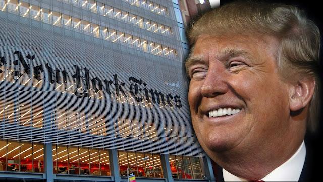 O presidente eleito dos Estados Unidos, Donald Trump, usou sua conta de Twitter nesta quarta-feira para refutar reportagens sobre problemas em sua equipe de transição, criticando em especial o jornal New York Times por dizer que líderes de todo o mundo têm tido dificuldades para contatá-lo
