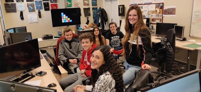 El proyecto social HAPIS liderado por Claudia Diosán en desarrollo en los Laboratorios TIC
