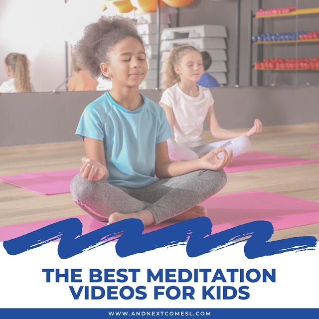 Meditation videos for kids