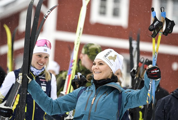 Crown Princess Victoria's 17th hiking in the landscape of Sweden took place in Norrbotten