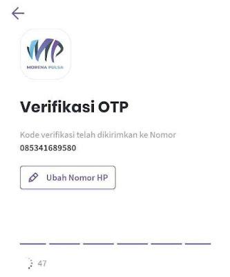 Input Kode OTP