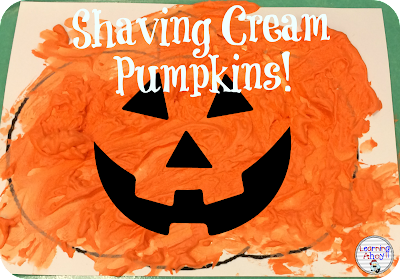 Shaving Cream pumpkin