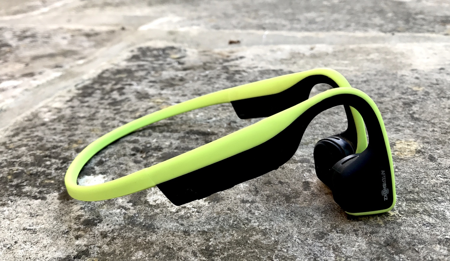 Aftershockz Cycling Headphones