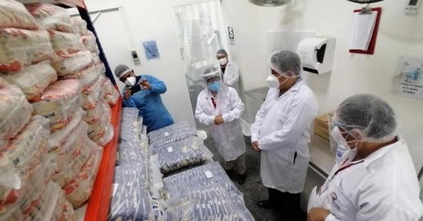 Qali Warma y autoridades de Ica articulan acciones para reforzar gestión servicio alimentario escolar 2021
