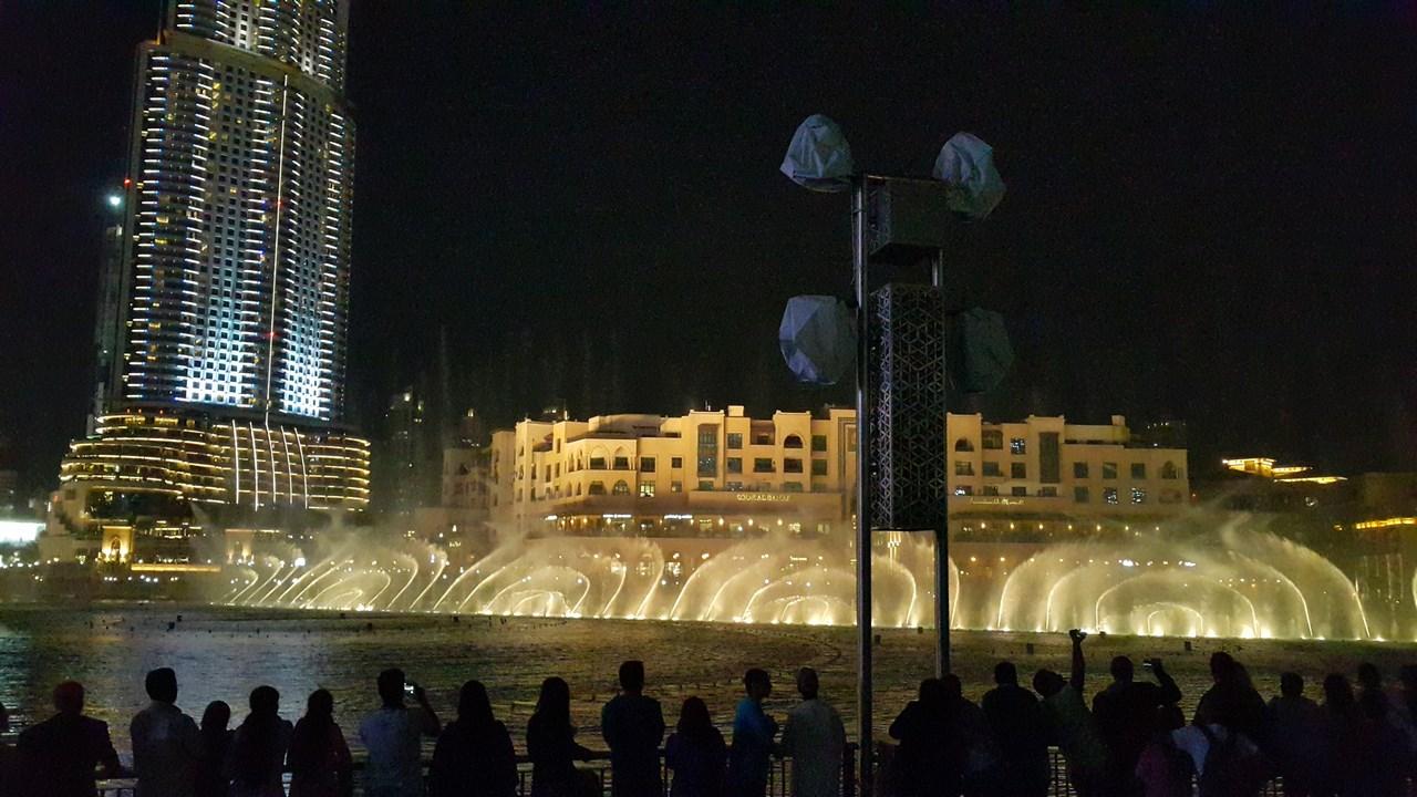 النوافير الراقصة دبي