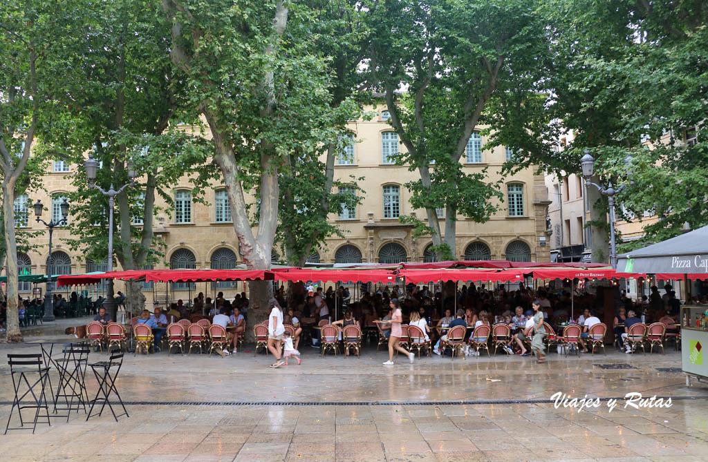 Plaza Richelme, Aix en Provence