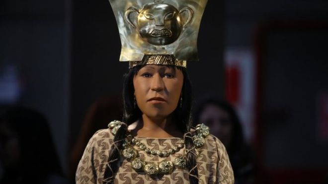Peru reconstructs face of ancient female leader