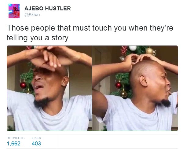 Blog readers, here are few tweets to make you laugh