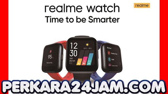 Realme Watch Cocok Jadi Asisten Kesehatan Anak Muda