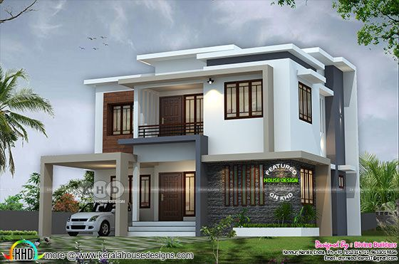 2242 square feet 4 bedroom modern home