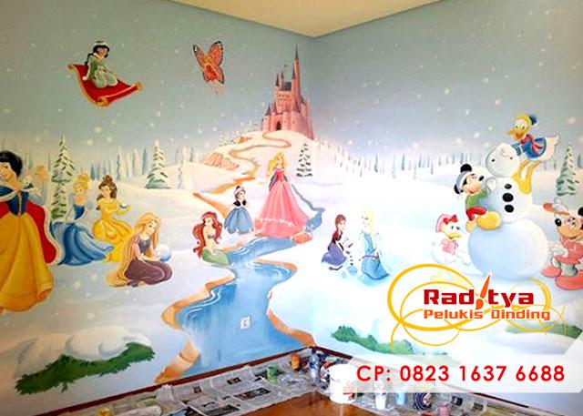 Lukisan Dinding Kamar Keren, Sederhana dan Minimalis