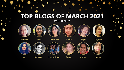 Top Blogger March 2021
