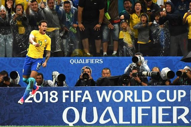 Seleção Brasileira é a primeira a se classificar para a Copa do Mundo via Eliminatórias
