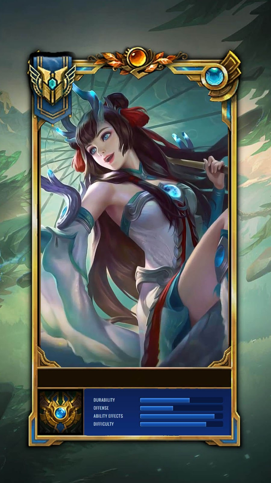 Wallpaper Kagura Soryu Maiden Skin Mobile Legends Full HD for Android and iOS