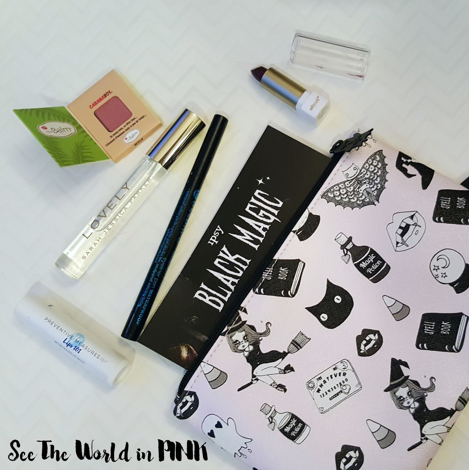 October 2016 - Ipsy Glam Bag Unboxing and Review