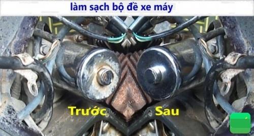 Hư hỏng bộ đề xe máy và cách khắc phục