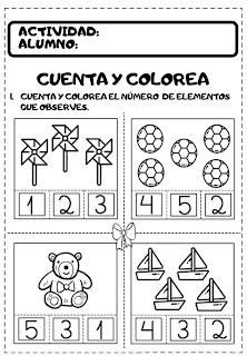 importancia de las matemáticas en preescolar