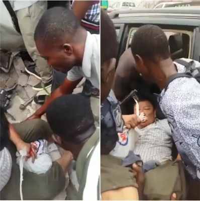 Chinese Man Involved In A Car Accident Refuses Helpers To Hold His Bag Of Money
