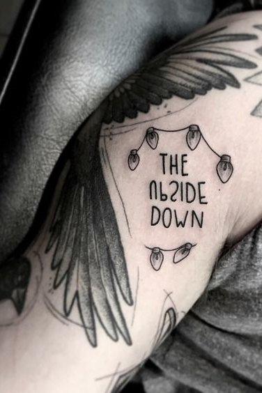 Upside Down Tattoos