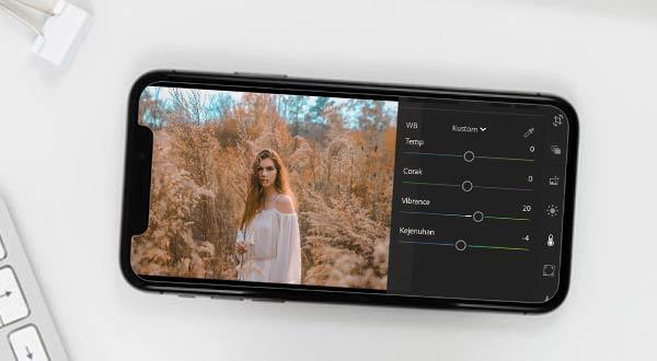 Cara Mudah Mengirim Preset Lightroom ke HP Android Lain