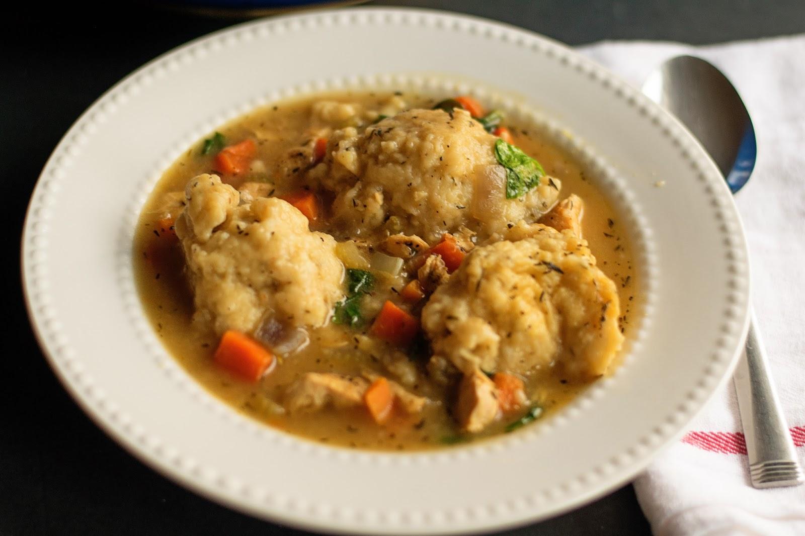 recipe: chicken and drop dumplings from scratch [5]