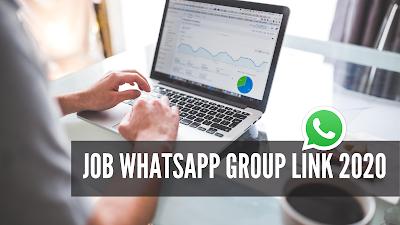 Job WhatsApp Group Link 2020