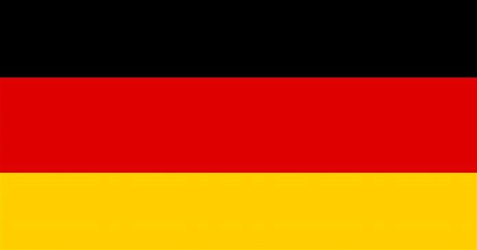 Bayrağında sarı renk olan ülkeler Almanya bayrağı