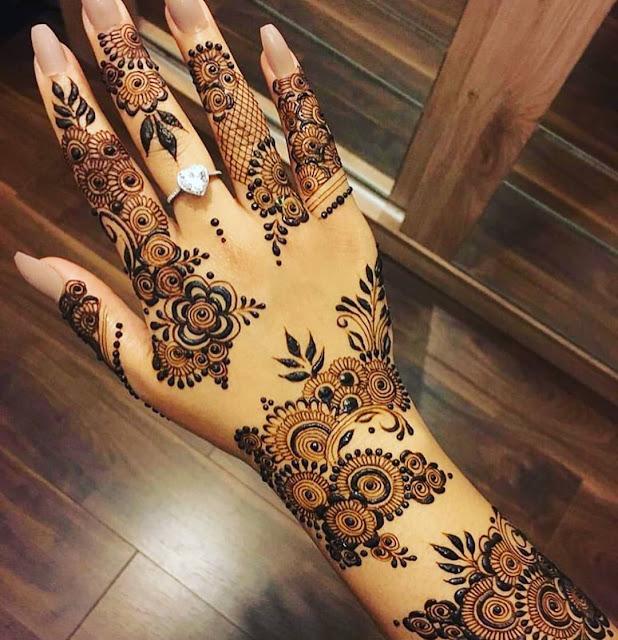 latest mehndi designs 2016 arabic