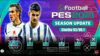 Download PES 2021 PPSSPP Offline Camera PS5 Graphics HD & Update Transfer