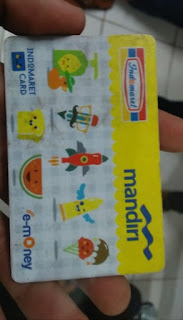 contoh indomaret card