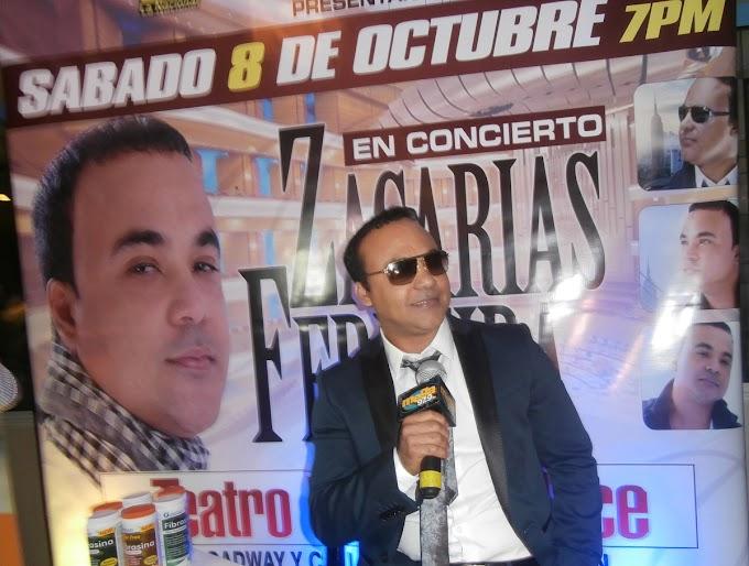 Zacarías Ferreira dice le falta mucho por aprender; se presentará mañana en  teatro United Palace