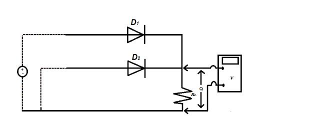 Rangkaian gerbang OR dengan dioda