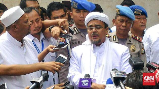 FPI: Semakin Jelas Ada Kelompok Besar Tak Mau HRS Pulang