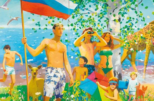"Vladimir Dubossarky / Alexander Vinograd, ""What the Homeland Begins With"", 2006."