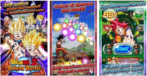 Download Dragon Ball Z Dokkan Battle MOD APK 4.7.0 (God Mode) For Android 1