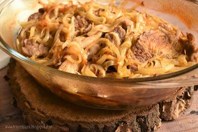 Karkówka z cebulą – kuchnia podkarpacka