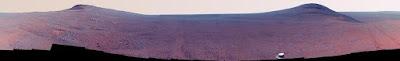 """Imagen en Color del """"Valle de la Perseverancia"""" en Marte"""