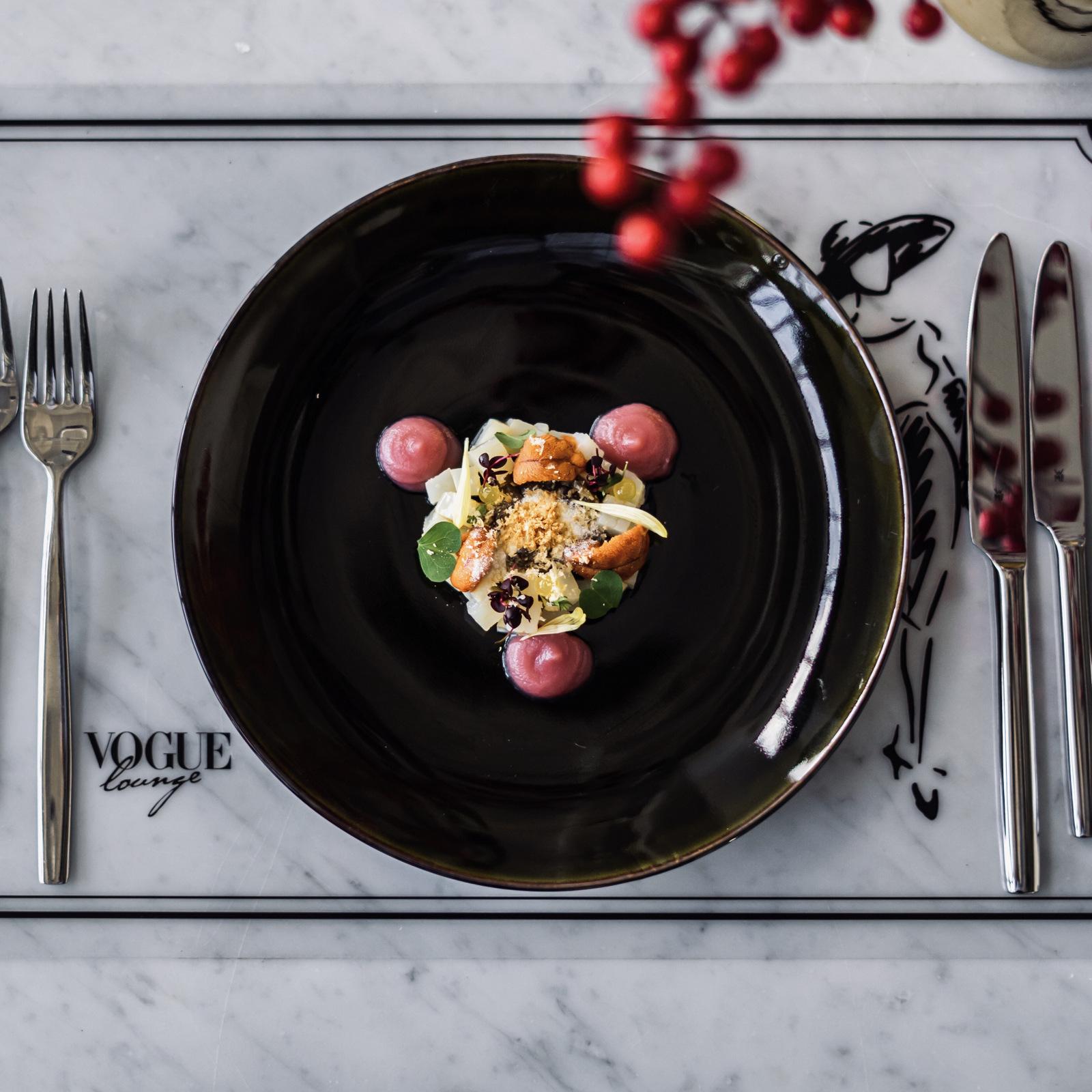 vogue lounge kl: valentine's menu
